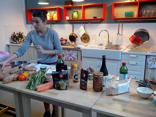 J ai test le cours de cuisine v g tale d na naturo - Cours de cuisine japonaise paris ...