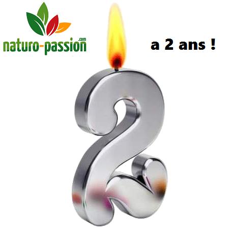 Naturo-Passion souffle sa 2ème bougie : cadeaux !