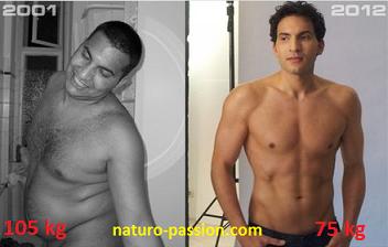 Il perd 30 kilos en devenant végétarien